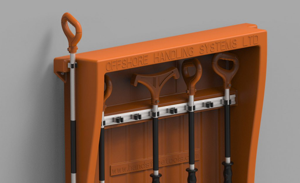 Hands Free Tools Storage Station Offshore Handling Systems